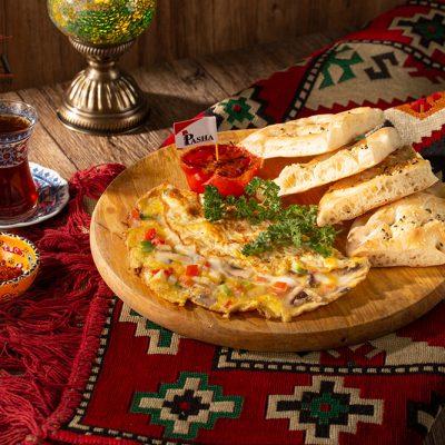 karisik omlet